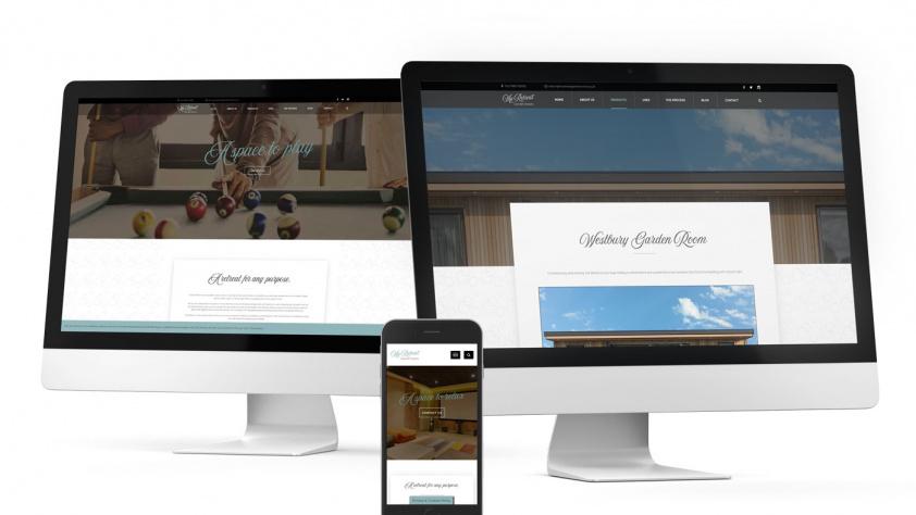 Garden Rooms website build