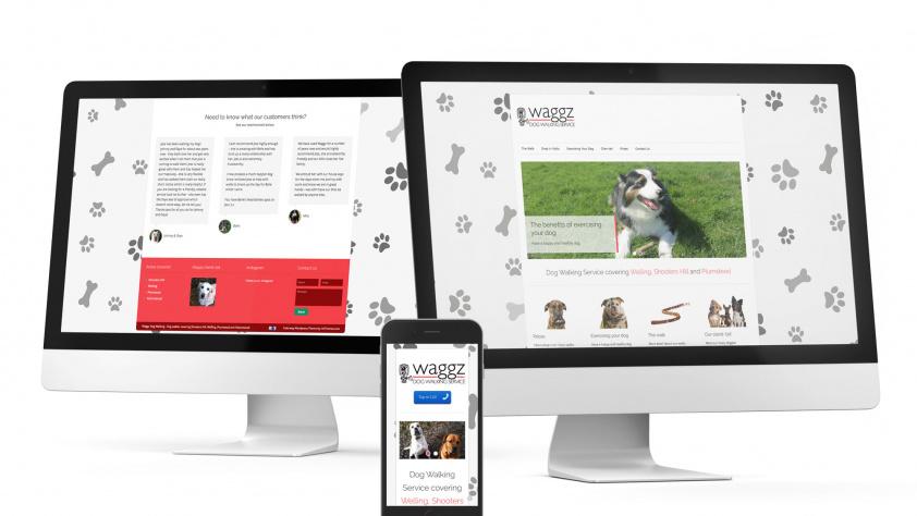 Dog Walking Website build